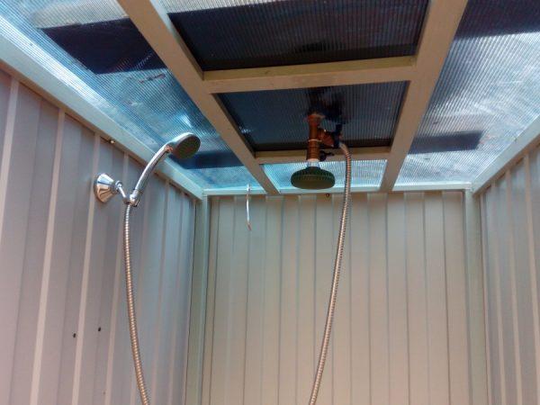 Как построить летний душ для дачи самостоятельно