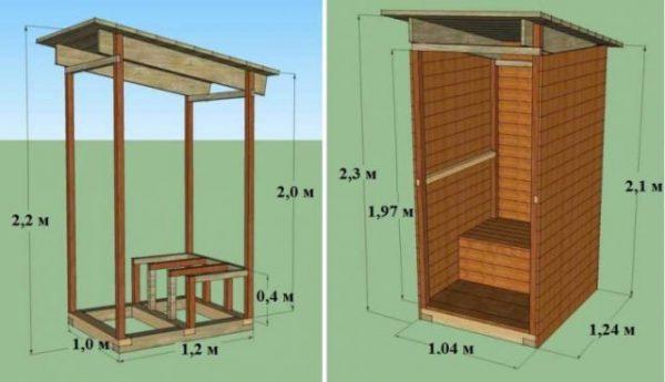 Схема сборки туалета