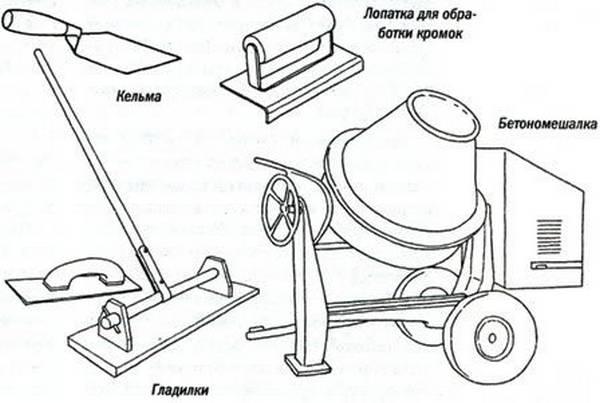 Оборудование и инструмент для работы с бетоном