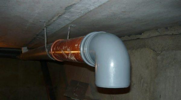 Трубы ПВХ хорошо подходят для вентиляции