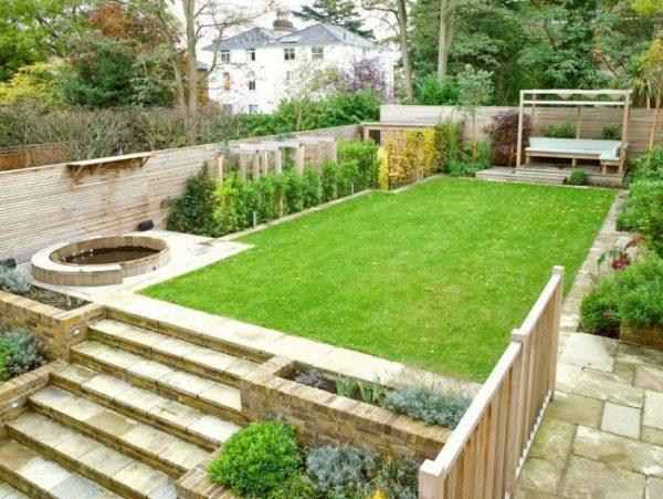 Дизайн садового участка: варианты