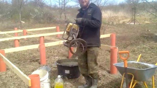 Как приготовить бетон: пропорции