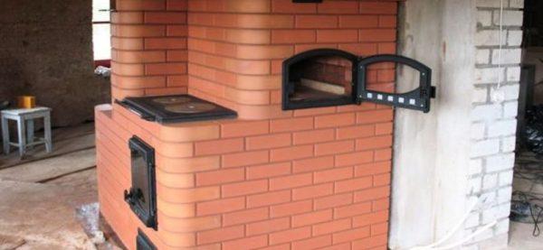 Кладка печи из кирпича: пошаговая инструкция