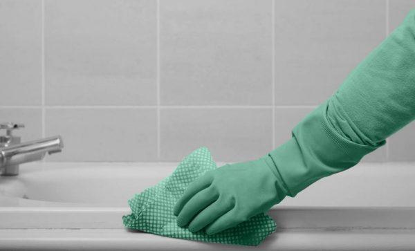 Как отмыть ванну от налета и желтизны