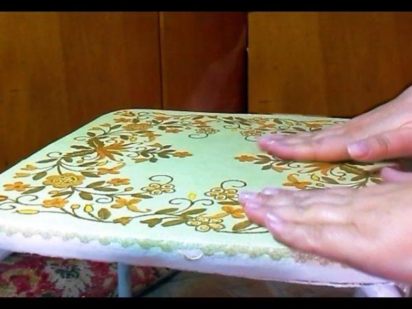Современные идеи для декупажа мебели салфетками