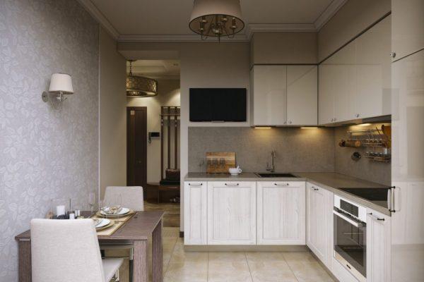 Современный интерьер кухни 2019