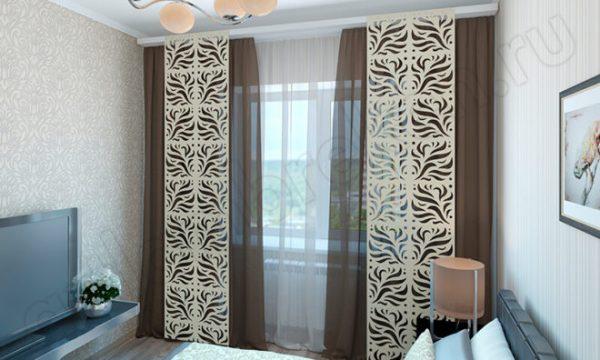 Японские шторы-панели