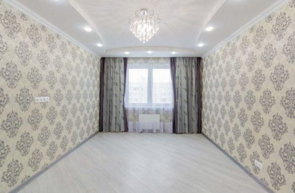 Натяжные потолки в спальне: модный дизайн