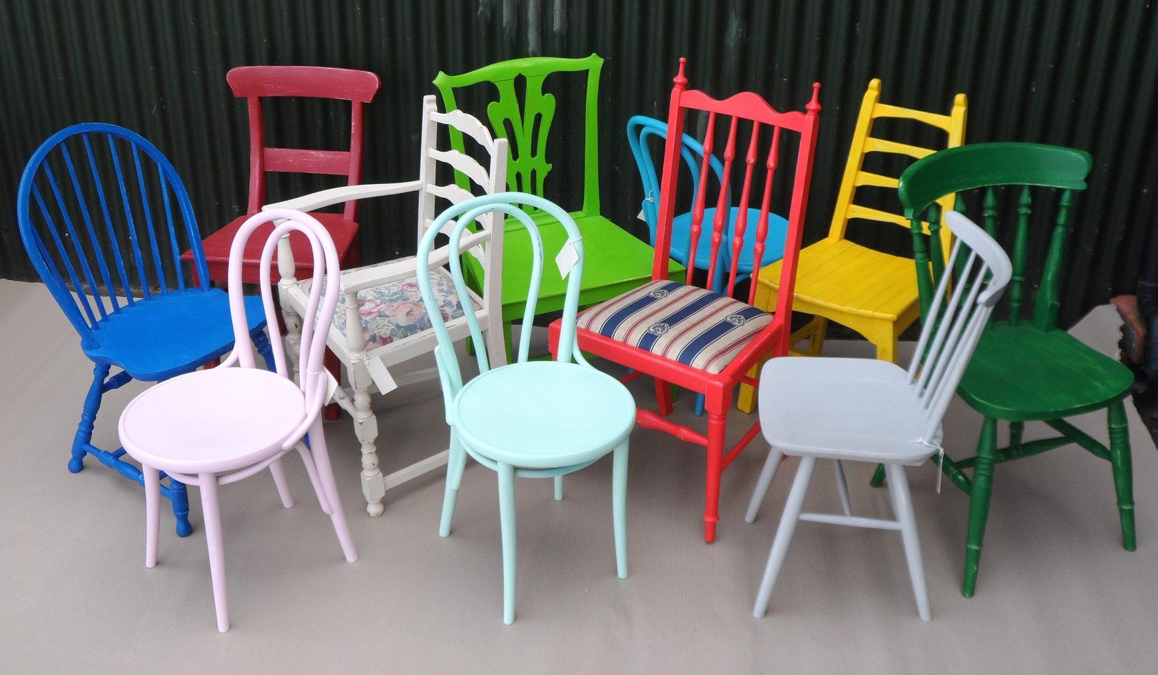 Что можно сделать со старыми стульями