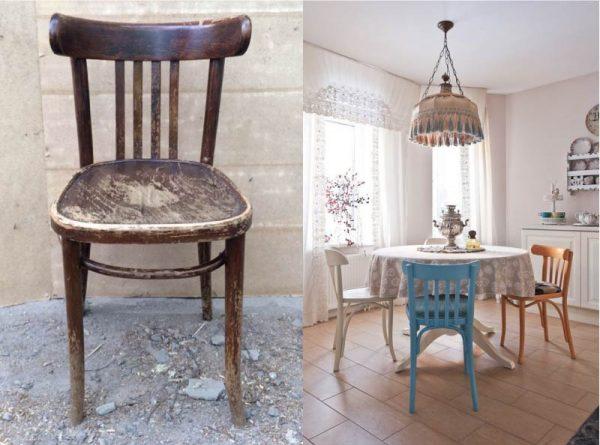 Реставрация старых стульев своими руками