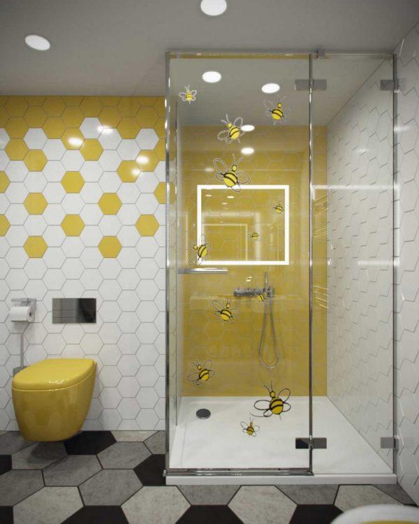 Как выбрать плитку для маленькой ванной комнаты