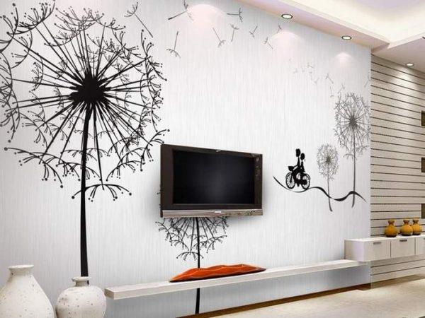 Интересный декор стен своими руками