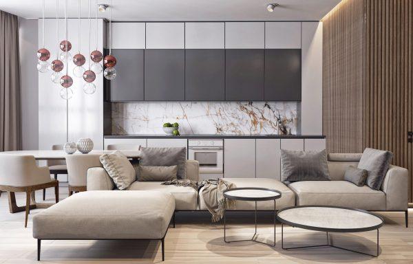 Модный интерьер квартиры 2020