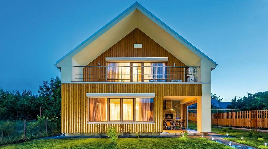 каркасный дом мечты