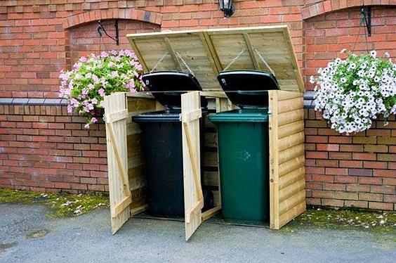 мусорные баки на участок