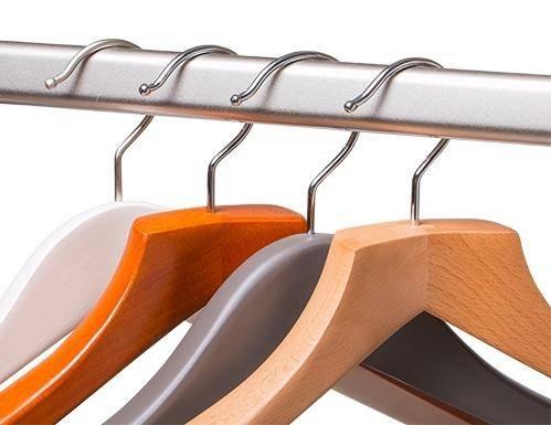 Как подобрать размер плечиков для одежды?