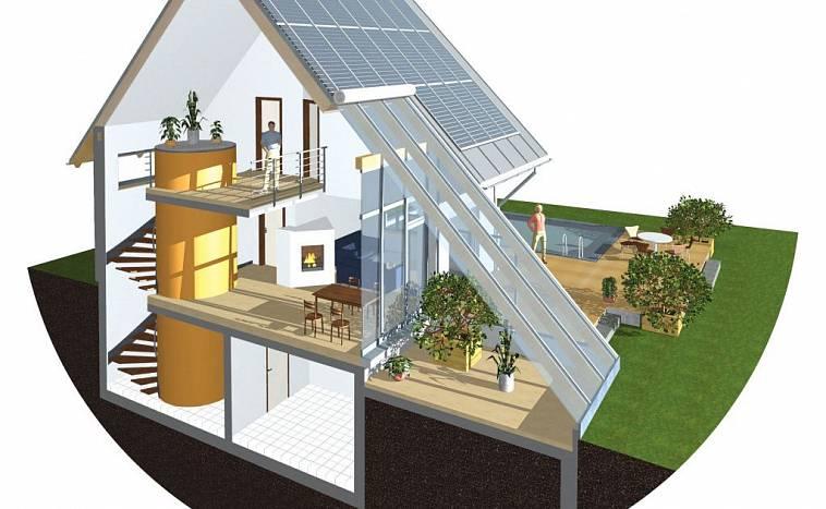 Проекты энергосберегающих домов