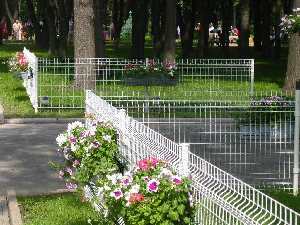 секционный забор сетка