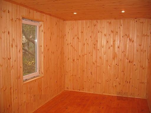 блок хаус отделка фото