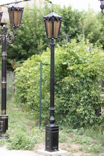 литые уличные светильники