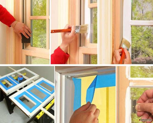 пропитка деревянных окон