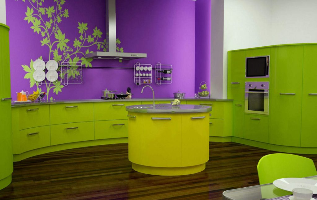 виниловая кухонная мебель
