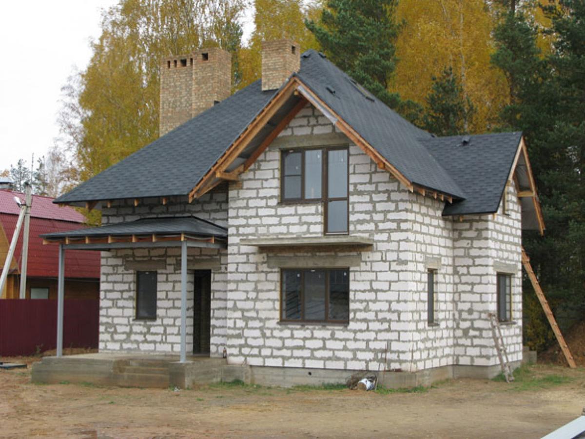 Дома под ключ из блоков картинки