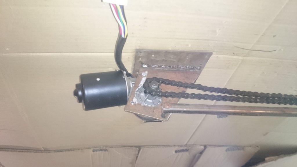 электропривод подъемных ворот