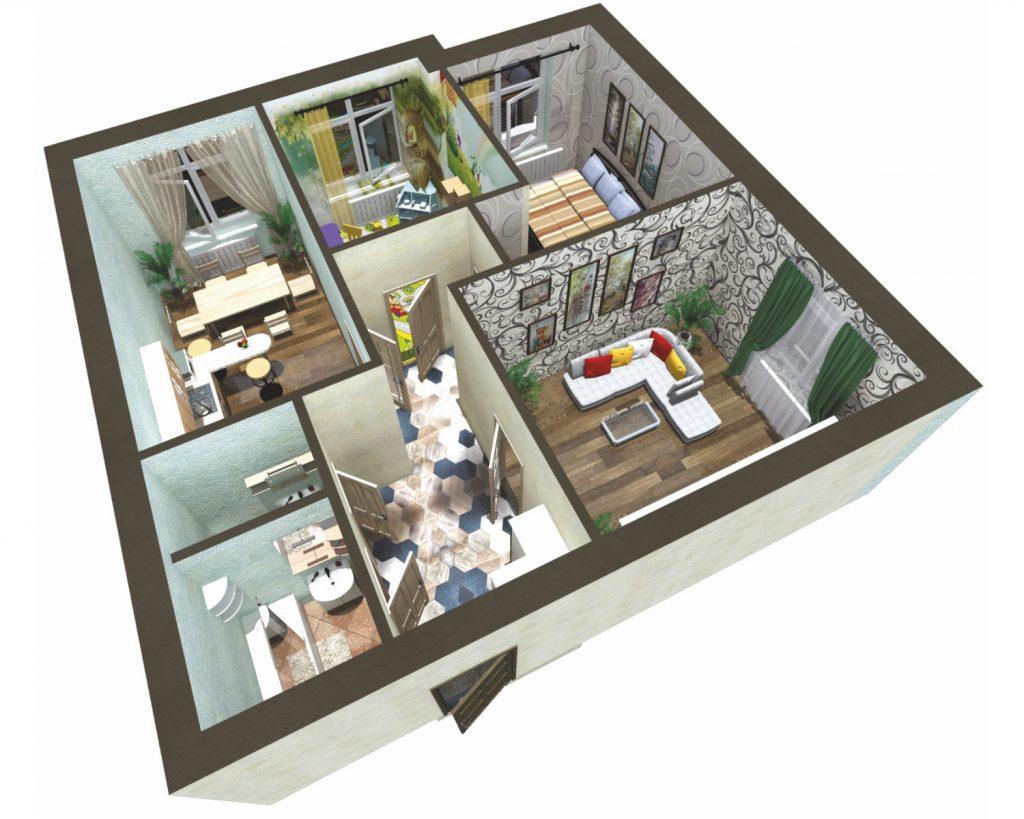как выбрать трехкомнатную квартиру