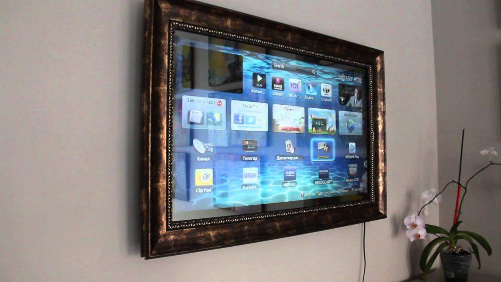 конструкция телевизора зеркала