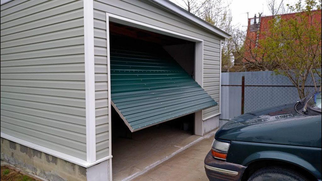 подъемные гаражные ворота идеи