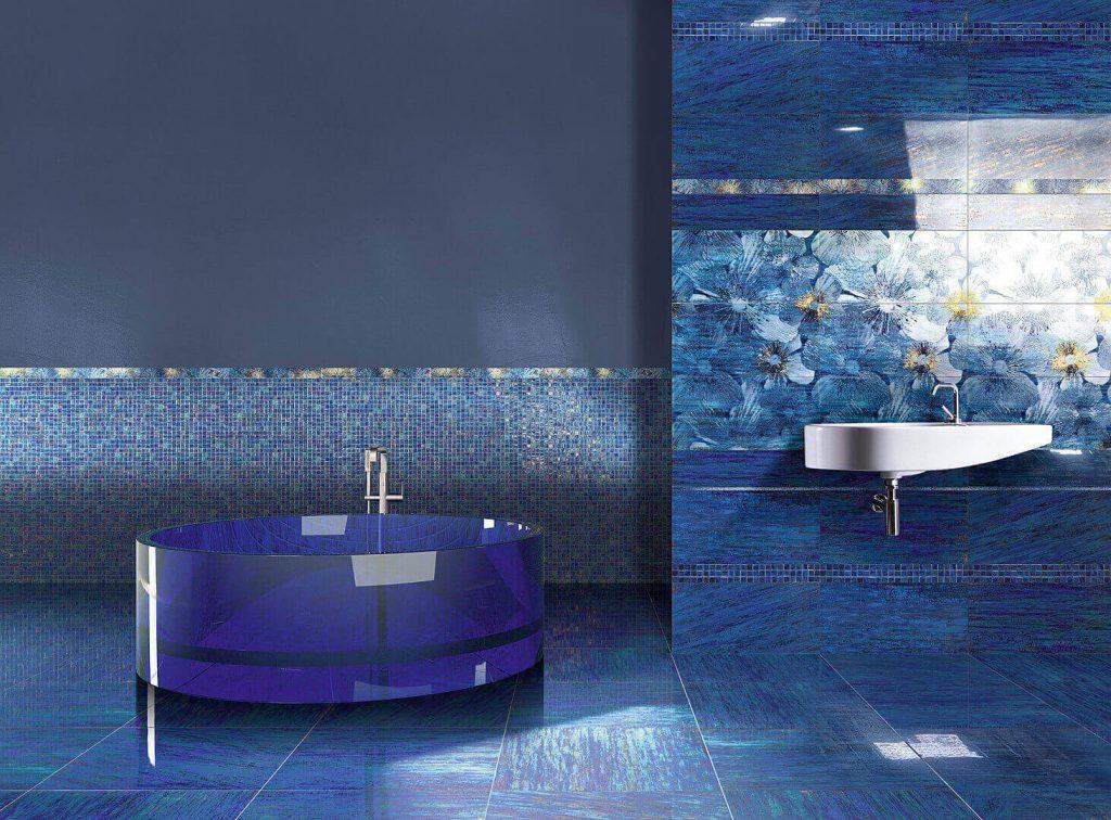 синяя плитка Brennero