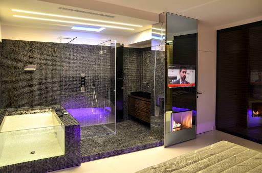 телевизор зеркало для ванной