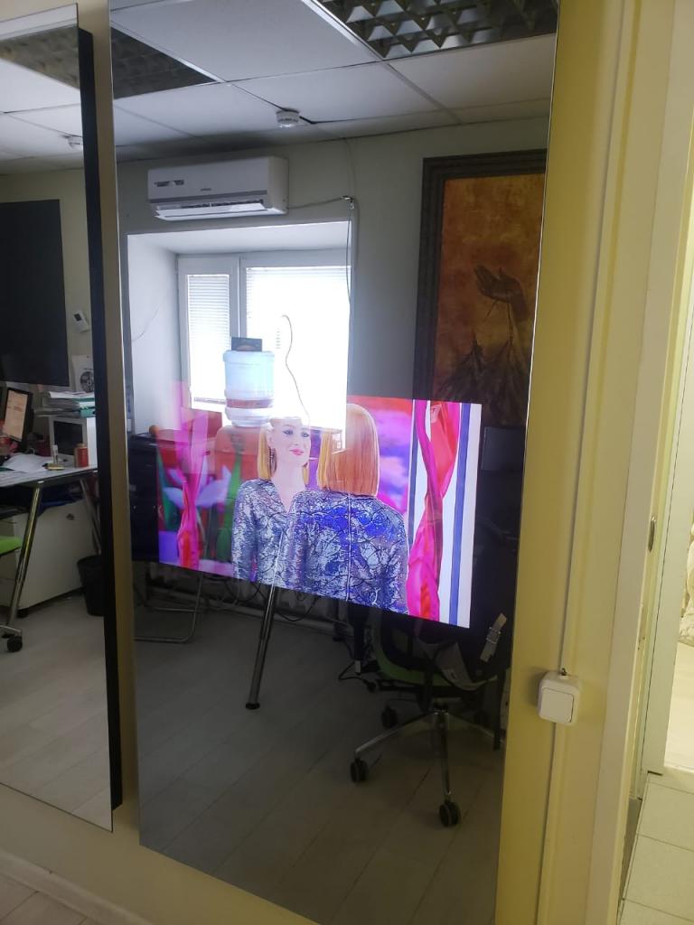 телевизор зеркало идеи