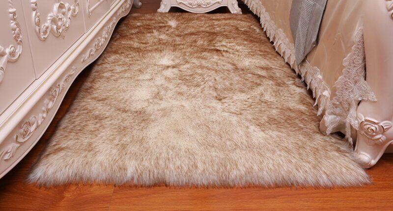 коврик из лисы