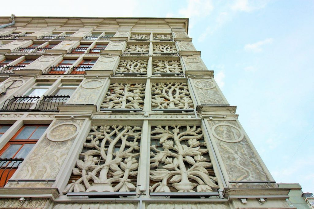 лепнина из полиуретана фасад