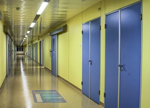 медицинские металлические двери