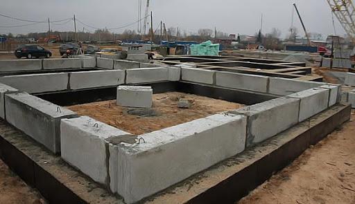 силикатные блоки фундамент
