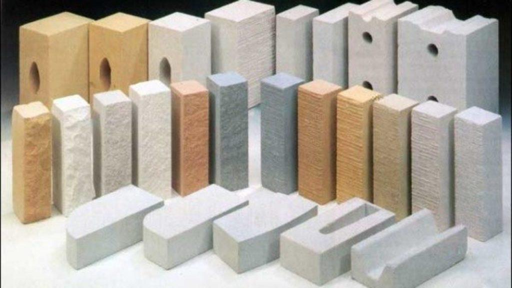 виды силикатных блоков