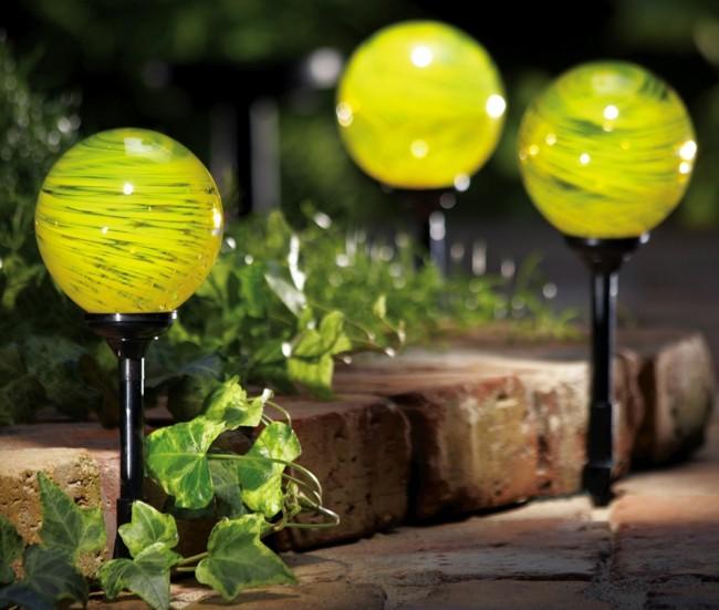 светильник в форме шара