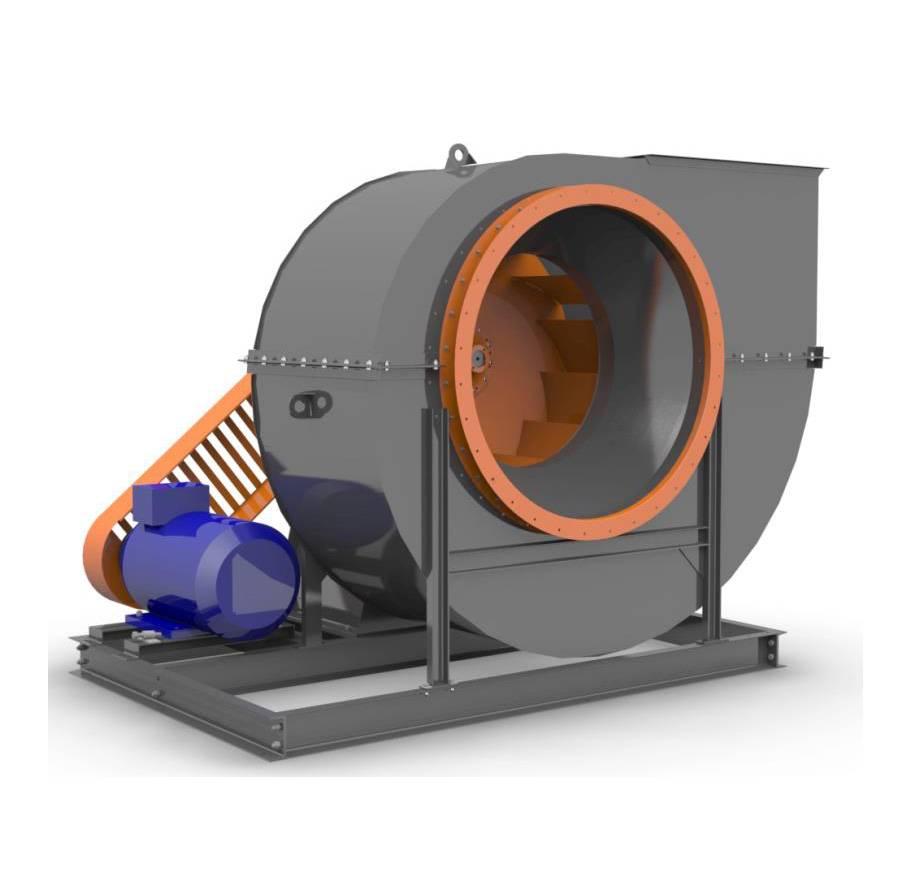 Область применения вентиляторов среднего давления