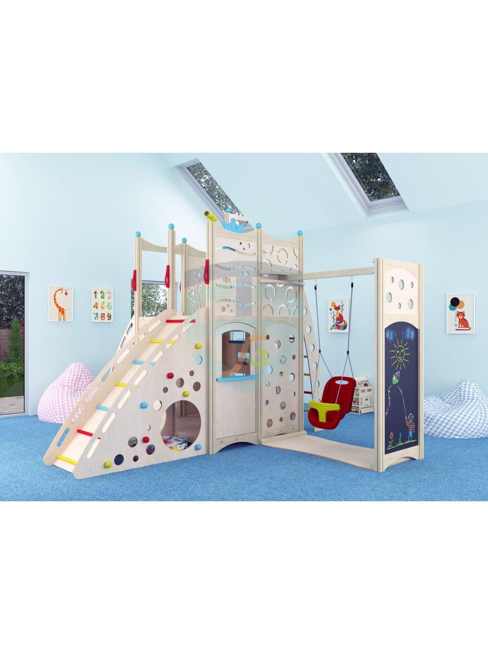 Достоинства детской игровой площадки