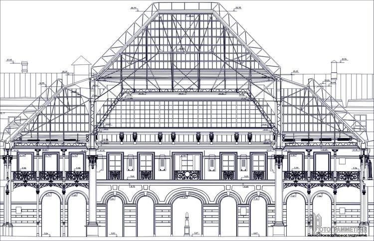 Особенности архитектурных обмеров