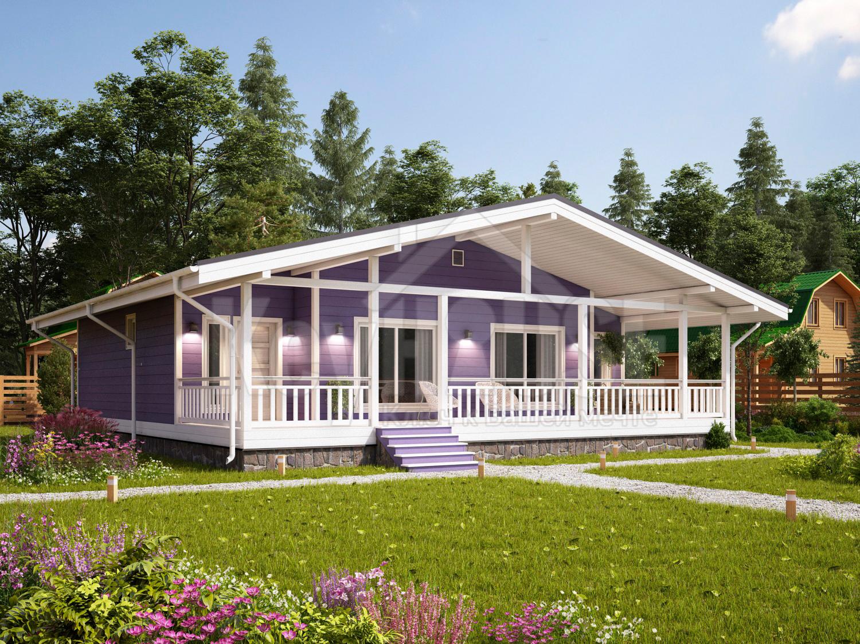 Преимущества одноэтажного каркасного дома